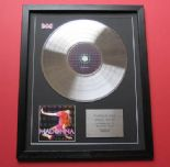 MADONNA - Confessions On A Dance FLOOR CD / PLATINUM PRESENTATION DISC